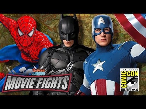 Best Comic Book Movie? - MOVIE FIGHTS! Live From Comic-Con 2016