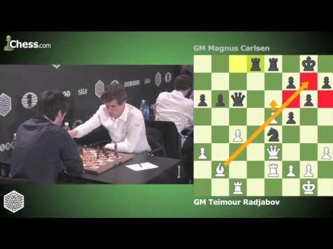 Teimour Radjabov vs Magnus Carlsen: World Blitz Championship