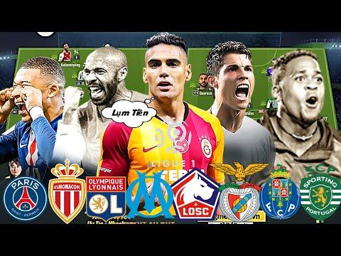 """Chung Kết Giải Đấu """" PHÁP - BỒ """" Đại Chiến Của 8 Đại Gia Ligue 1: PSG, LYON, MONACO, PORTO, BENFICA"""