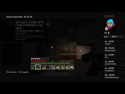 Jugando Minecraft Y Asiendo Mundo Cheto Parte 1