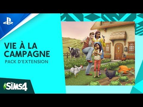 The Sims 4 Country Living |  Revelation trailer |  PS4