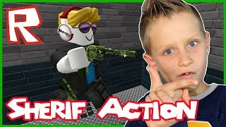 Sherif Action in Roblox