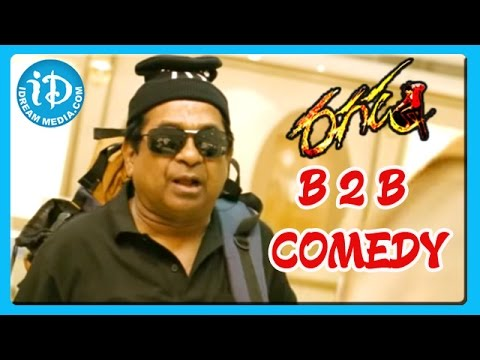 Ragada Movie Movie Back To Back Comedy Scene Part 2 - Brahmanandam - Ali - Dharmavarapu
