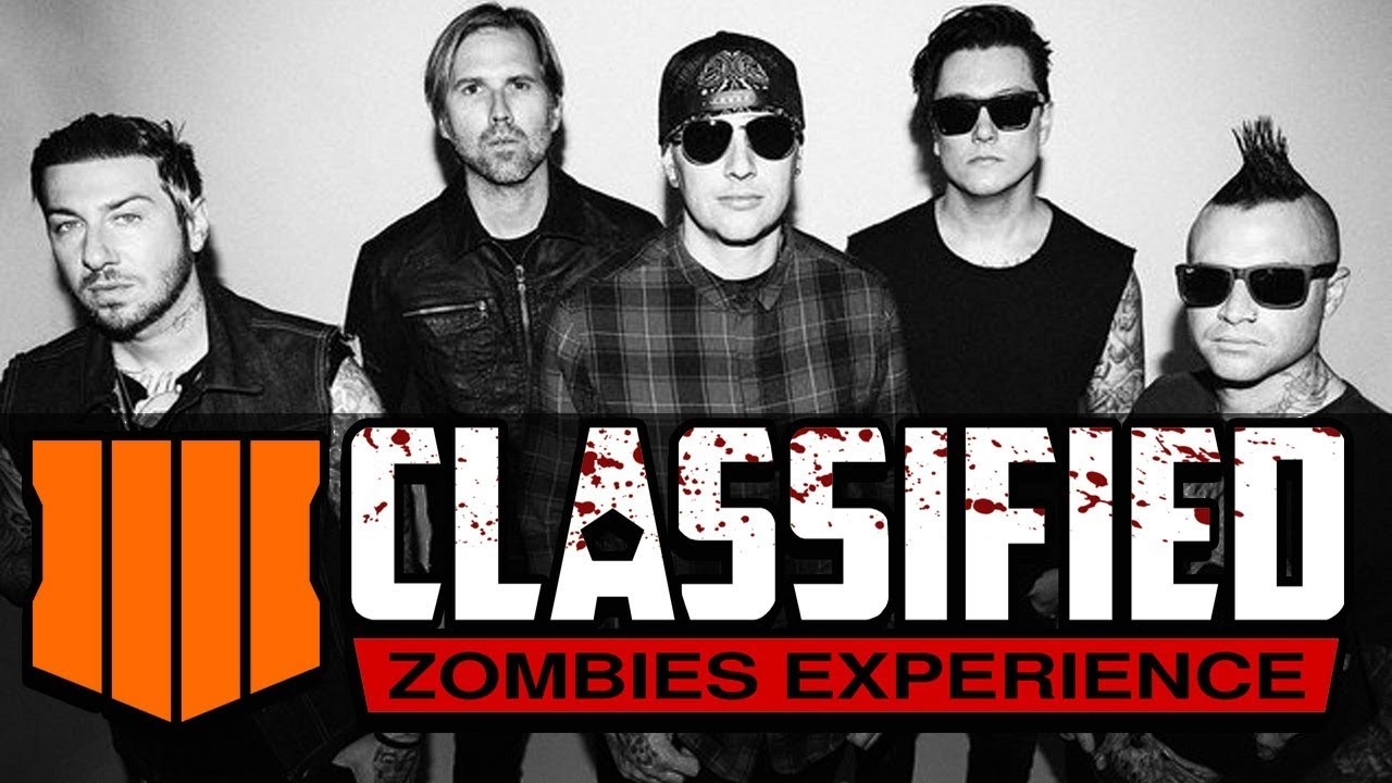 """NEW! (AVENGED SEVENFOLD) SONG FOR """"CLASSIFIED"""" MAP BO4 ZOMBIES"""