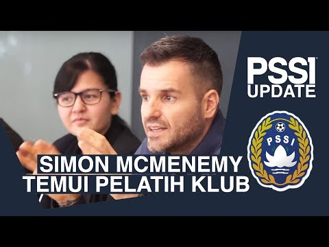 PSSI UPDATE: Simon McMenemy Temui Perwakilan Klub Liga 1 2019
