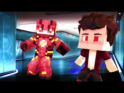 Minecraft - Who's Your Family? O FILHO VELOCISTA DO FLASH
