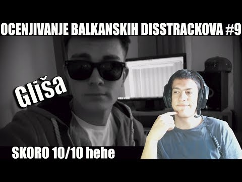 OCENJIVANJE BALKANSKIH DISSTRACKOVA - Gliša Disstrack 'Afro Trap' (Official Video)