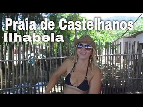 Praia de Castelhanos - Ilhabela com os Caçadores de Aventura