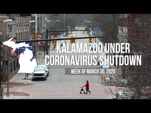 Kalamazoo At A Near Stand Still After Coronavirus 'stay-at-home' Order