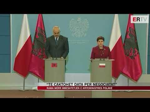Rama nis vizitën zyrtare në Poloni - News, Lajme - Vizion Plus