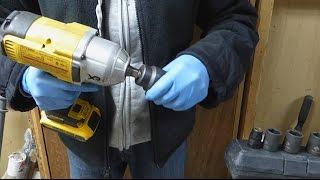 impact wrench hog ring vs pin detent