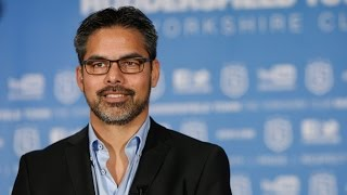 David Wagner's first press conference at HTAFC