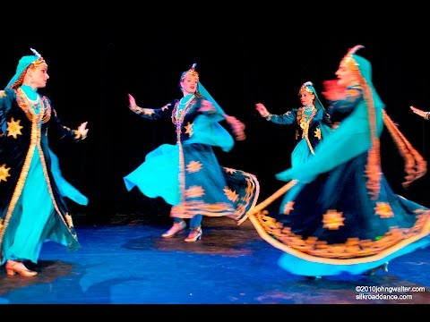 Uzbek Tajik  Dance Samarqand Ushoqi Silk Road Dance Company