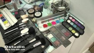 видео Свадебная прическа и макияж