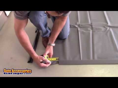 Park Smart Clean Park Garage Floor Mat Installation