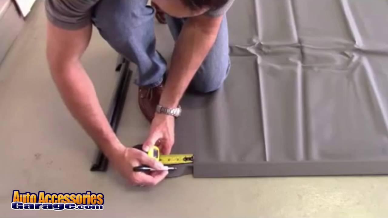 Park Smart Clean Park Garage Floor Mat Installation