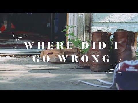 Joey Landreth - Where Did I Go Wrong | Live @ Roman's Shed