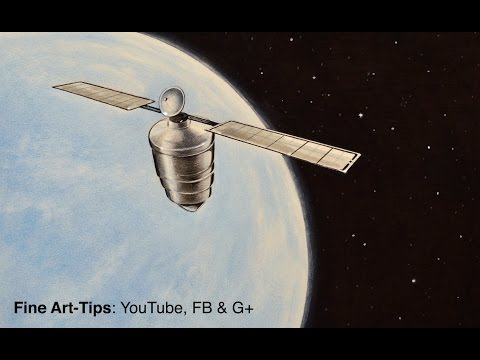 How to Draw a Satellite - Inspired by the book