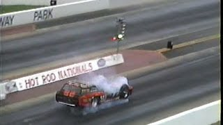 Tommy Ivo 4 Motor Wagon Master INDY GG's Hot Rod Nationals 1996