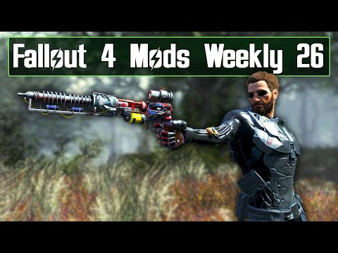 Amazing New Energy Weapon!  Fallout 4 Mods Weekly 26