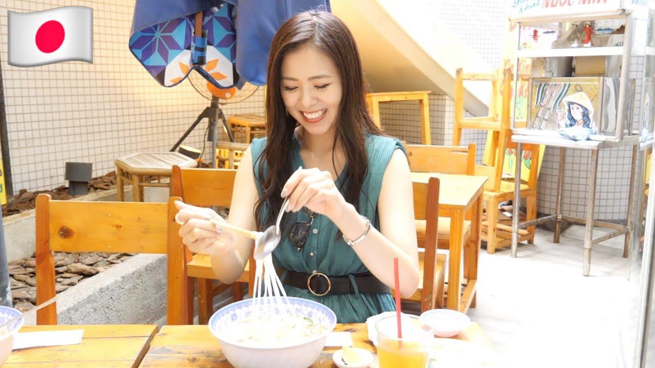 Model Nhật siêu ghiền Phở Việt. Xinh như hoa... !!!