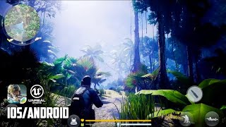 STEALTH TRACKING BATTLE ROYALE - iOS / Android - FIRST GAMEPLAY (Unreal Engine 4)
