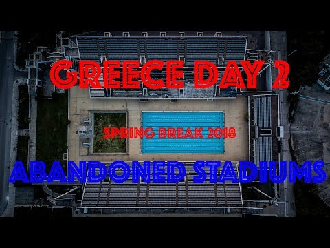 Greece Vlog Day 2. Visiting abandoned Stadiums in Athens