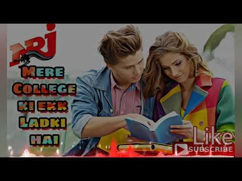 Jise Dekh Mera Dil Dhadka | Mere College Ki Ladki Hai | Remix By | Dj Nicky | Dj NRJ (Niraj)