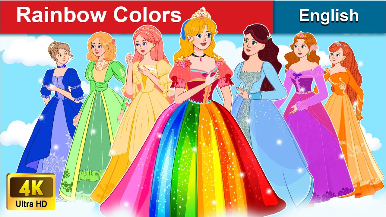 Rainbow Colors 👸 Seven Fairies Story in English | Stories For Teenagers | WOA Fairy Tales
