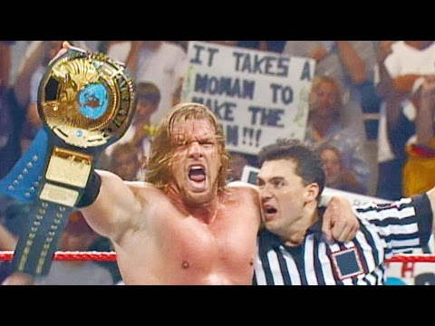 4 Superstars who won their first World Titles on Raw