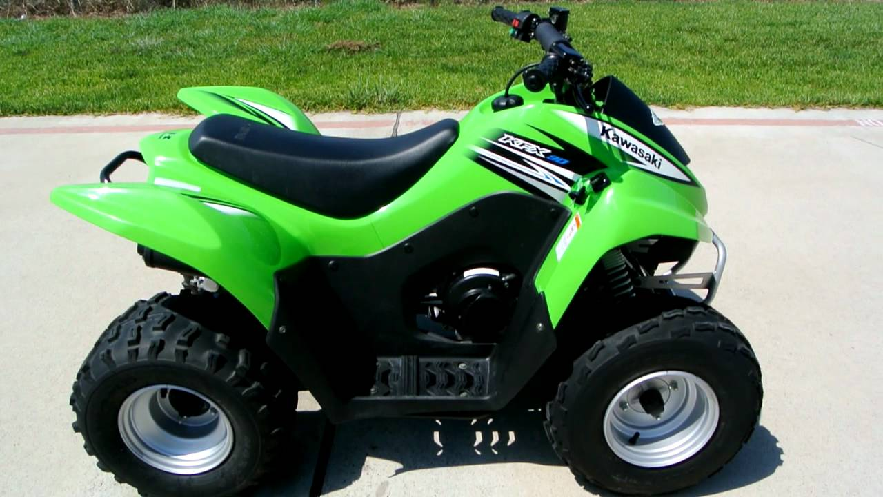 2011 Kawasaki KFX90 Youth ATV - YouTube