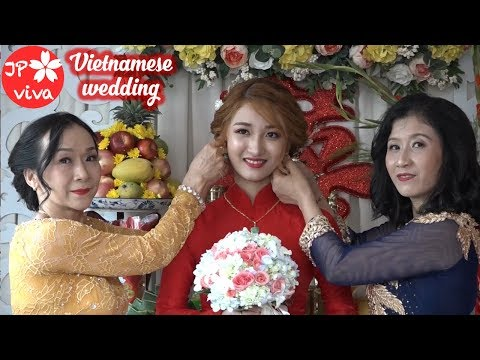 [JP viva] A traditional Vietnamese wedding 🇻🇳🇻🇳🇻🇳