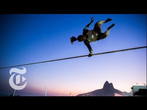 Slackline's World Champion | Rio Olympics 2016 | The New York Times