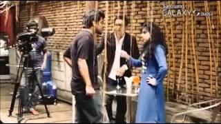 Bangladeshi singer porshi was fighting seriously