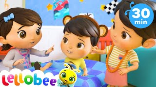 5 Little Monkeys And The Doctor | Baby Songs | Nursery Rhymes & Kids Songs | Little Baby Bum