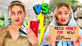 Rich Student vs Poor Student - Part 2  Nicky helps Chloe to make money