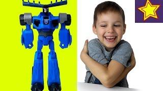 Игрушки трансформеры десептикон Thunderhoof против Автоботов Kids toys video(Привет, ребята! В этой серии Игорюша открывает трансформера Тандерхуфа из команды Стилджо из серии Роботы..., 2017-01-13T05:00:32.000Z)