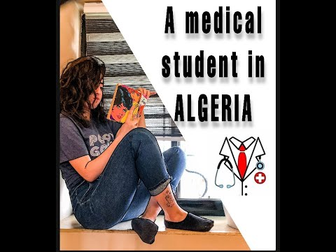 A day in a life of a medical student in ALGERIA (AFRICA) !