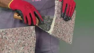 видео Двухкомпонентный клей для камня и плитки