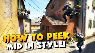CS:GO - How To Peek Inferno Mid In Style!