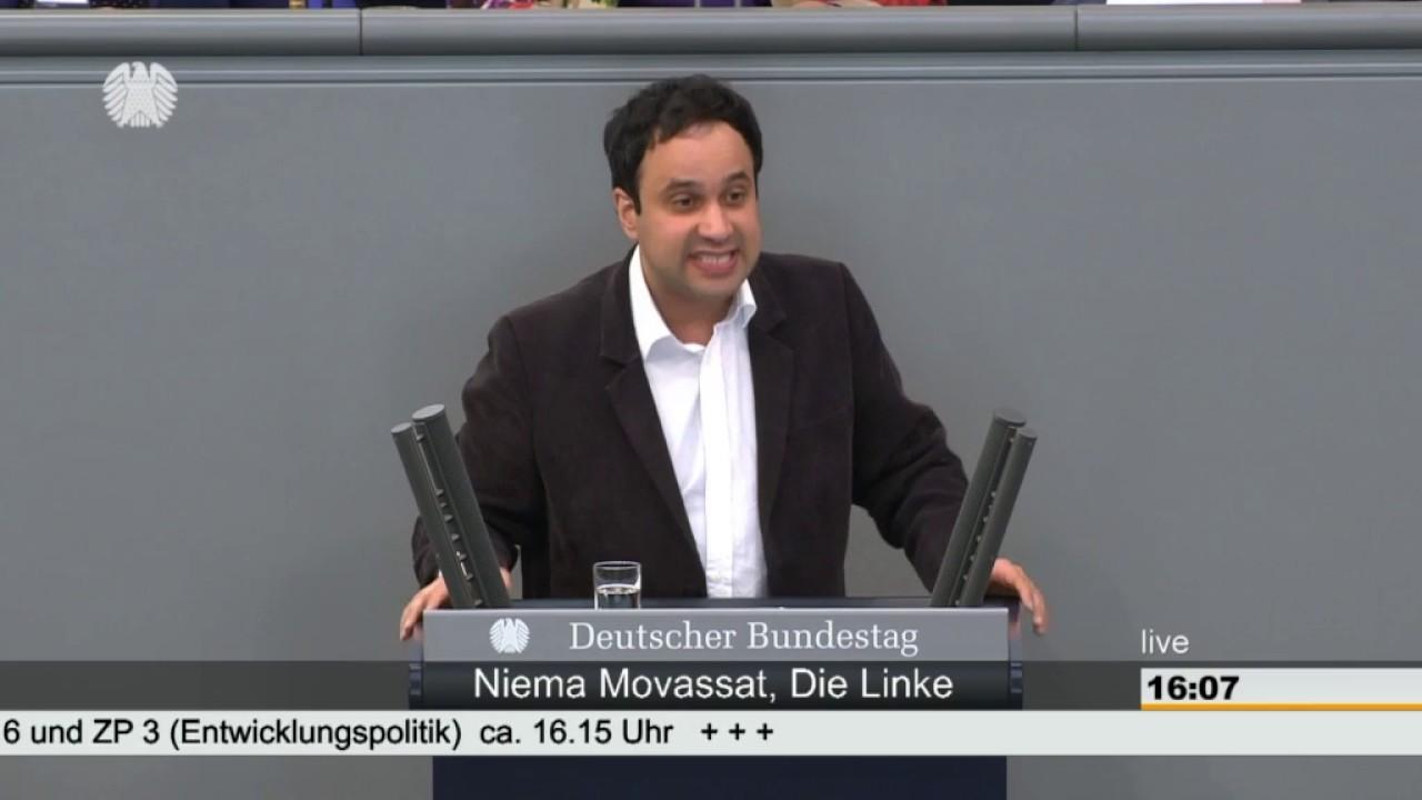 Niema Movassat: Entwicklungspolitik [Bundestag 31.05.2017] - YouTube