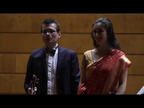 Sonata no.2, by George Enescu  - 2. Tranquillement 3. Vif | West meets East 2018