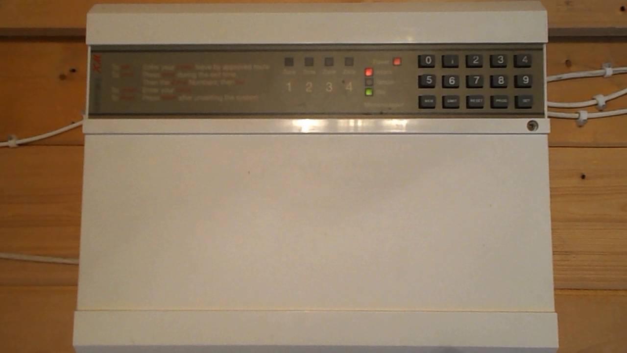 how to change the bell duration on an optima xm burglar alarm rh youtube com optima xm alarm installation manual Audiovox XM6