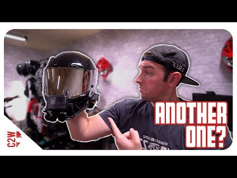 Building a motovlogger helmet!! | Quick GoPro Helmet Setup