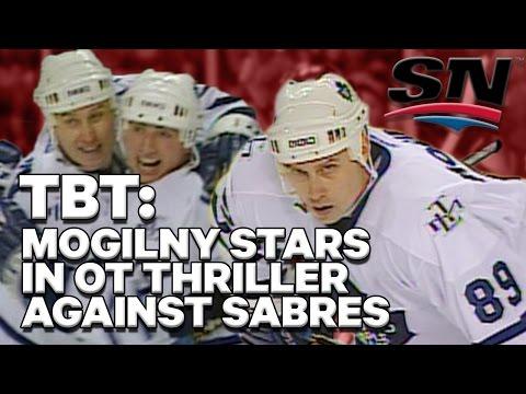 #TBT: Mogilny milestone headlines Maple Leafs epic '04 comeback