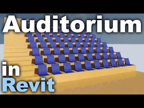 Auditorium in Revit Tutorial
