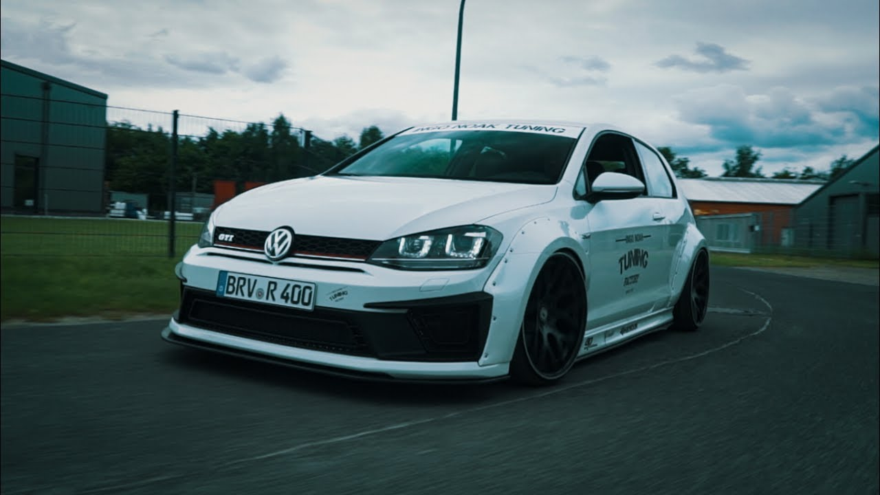 vw golf mk7 widebody gti us schmidt wheels noak tuning. Black Bedroom Furniture Sets. Home Design Ideas