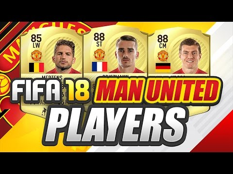 NEW FIFA 18 POTENTIAL MAN UNITED PLAYERS/TEAM?!