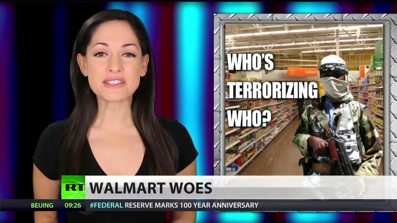 Attn Walmart Shoppers All Black People Must Leave Store