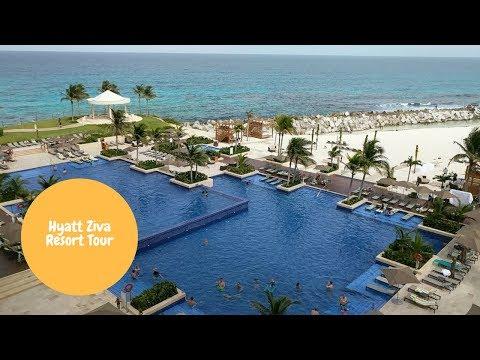 Hyatt Ziva Cancun Tour
